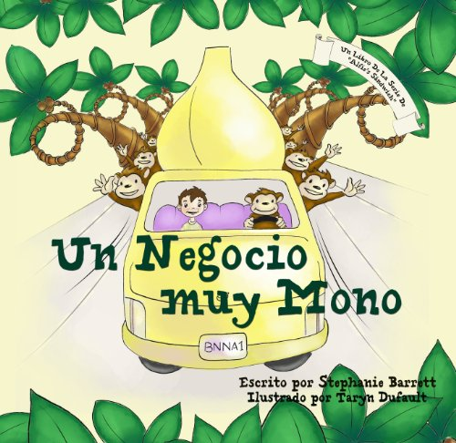 "Un Negocio muy Mono / Monkey Business (Spanish Children's Book Edition) (La Serie de ""Alfie´s Sandwich"") por Stephanie Barrett"
