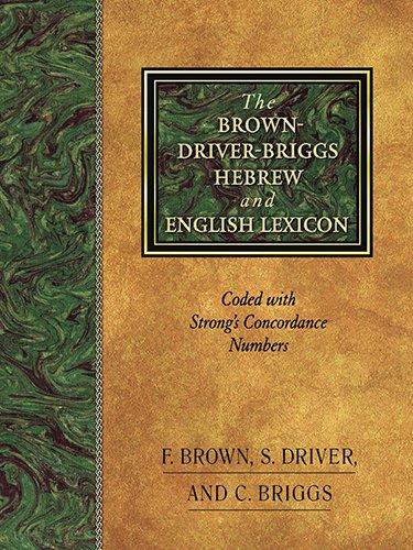 The Brown-Driver-Briggs Hebrew-English Lexicon por Francis Brown