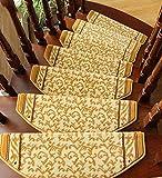 Payonr Weiche Teppiche für drinnen und drinnen, Moderne Teppiche, Treppenläufer, Teppich-Pad (Set...