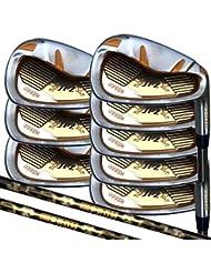 Japón Epron TRG 4-SW Grafito Matrix manchas acero cromado hierro lanzamiento alto Golf Club Set, Right