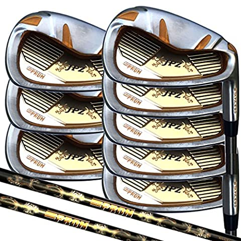 Japan Epron TRG 4-SW Graphite Matrix Stain Steel Chrome Iron High Launch Golf Club Set (grip standard size)