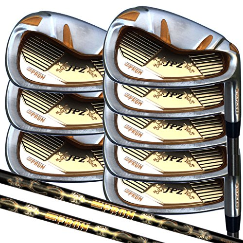 japan-epron-trg-4-sw-graphite-matrix-stain-steel-chrome-iron-high-launch-golf-club-set-grip-standard