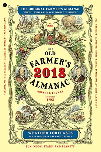 The Old Farmer's Almanac 2018, Trade Edition