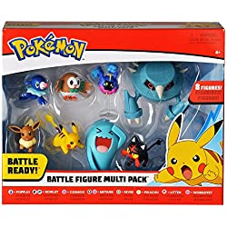 Bandai 80299 Pack de 8 figurines Pokémon