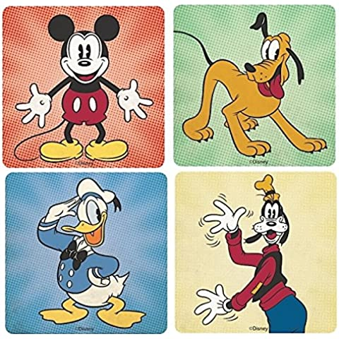 Disney-Mickey and Friends Set Of 4