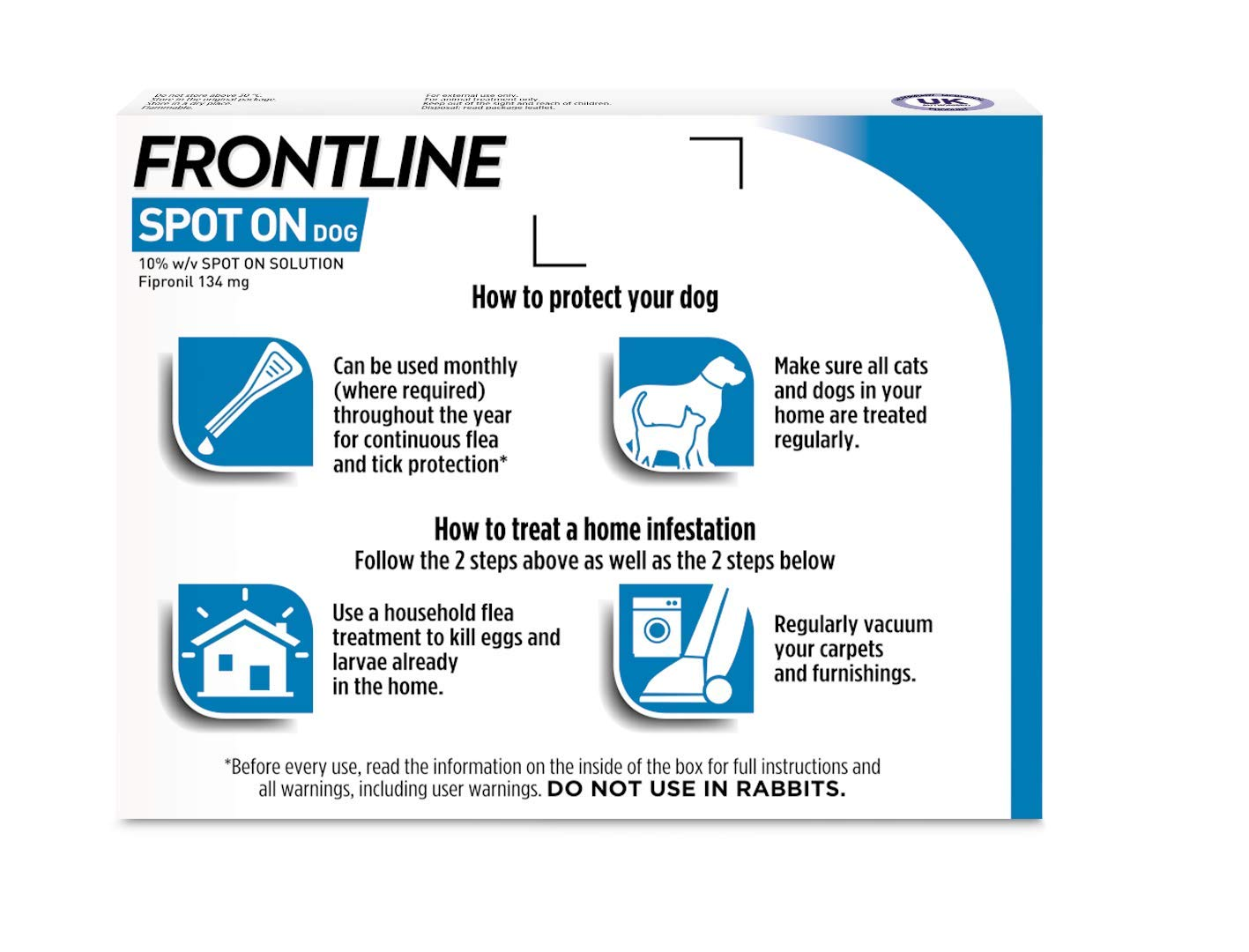 Frontline Spot On Flea and Tick Treatment for Medium Dog (10-20kg) 2