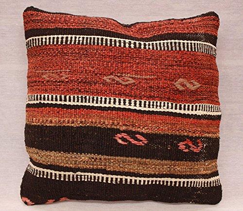 ETFA Kelim Kissen Kissenbezug Kissenhülle cushion cover pillow 40x40 cm 3539