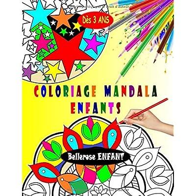Coloriage Mandala Enfant: Livre de Coloriage Mandala pour Enfant avec une Collection de 45 Mandalas Enfants - Mandala Facile - Coloriages pour Enfants dès 3 ans (Coloriage Magique Enfant)