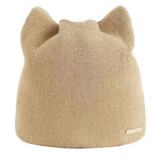 (VRTUR Damen Winter Warm Katzenohren Mütze Hut Russisch Kappen Kat HütOhren schützer Hut Caps)