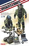 Meng HS003 - 1/35 US Explosive Ordnance Disposal Specialists and Robots