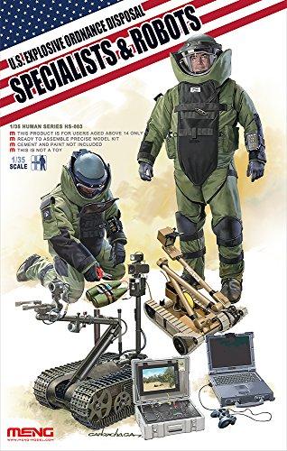 Unbekannt Meng HS003 - 1/35 US Explosive Ordnance Disposal Specialists and Robots -