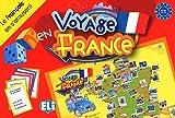 Voyage en France : Le français en s'amusant niveau A2 - B1...