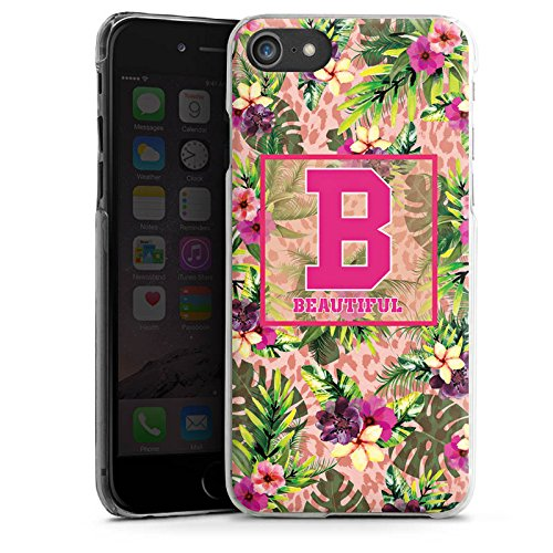 Apple iPhone X Silikon Hülle Case Schutzhülle College Beautiful Blumen Hard Case transparent