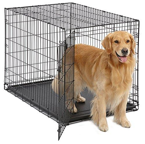 Artikelbild: Midwest Homes for Pets MidWest 1524 iCrate-Hundekäfig mit Einzelklappe (106,68x71,12x76,2cm)
