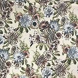 Discover Direct Vintage Floral hochwertig bedruckte