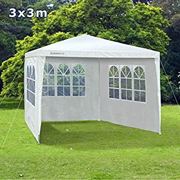 Slimbridge Saltney 3 X Metres Gazebo With Sides White