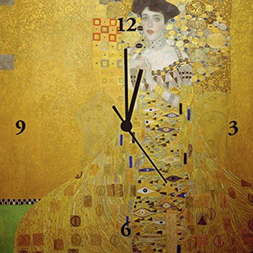 Artland Analoge Wand-Funk-oder Quarz-Uhr Digital-Druck Leinwand auf Holz-Rahmen gespannt mit Motiv...
