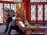 CALVENDO Puzzle Buddha in Fengcheng 1000 Teile Lege-Größe 64 x 48 cm Foto-Puzzle Bild von Elisabeth Stanzer