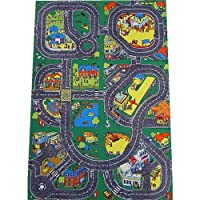 Be-Active Giant Roadway Playmat - A Fun Addition For The Bedroom, Playroom, Nursery Or Class Room!