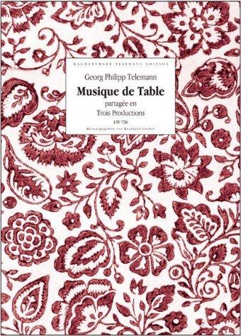 MUSIQUE DE TABLE TEXTO Y VOCES FACSIMIL (S) EN SCHUBER