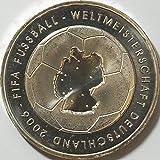 FIFA Fussball-Weltmeisterschaft, Deutschland 2006, 10 Euro-Gedenkmünze 2003, 5 Prägestätten: Die offiziellen deutschen Gedenkmünzen der FIFA Fussball-Weltmeisterschaft Deutschland 2006