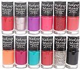 #1: Makeup Mania Nail Polish Set of 12 Pcs (Multicolor Set # 86)