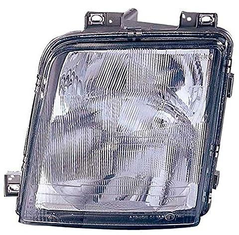 Phare Lumière lampe frontale gauche H4-h1avec phare spot ampoule de brouillard avec commande électrique réglable Volkswagen LT à partir de 03/1995au 07/2006