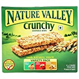 #5: Nature Valley Crunchy Granola Bars, Variety Pack, 252g