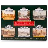 Ahmad Tea Classic Six, Confezione da 60 Bustine di Te