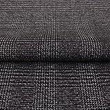 Hans-Textil-Shop Stoff Meterware Glencheck Karo, Baumwolle,