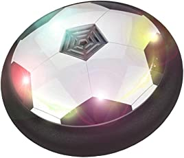 Toyk Kids Toys The Amazing Hover Ball with Powerful LED Light Size 4 Boys Girls Sport Children Toys Training Football for Indoor or Outdoor with Parents Game