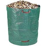 Schramm Sac de jardin en polypropylène résistant, vert, grande contenance de 500l