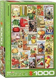 "Eurographics ""Verduras Semillas catálogo Puzzle (1000Piezas"
