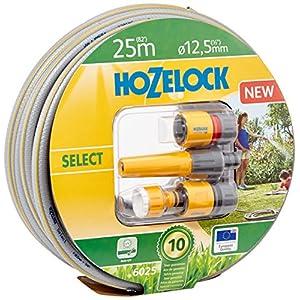 Hozelock Tricoflex Select Manguera Set, 12,5mm de diámetro de 25m con Inicial, Multicolor, 32,5x 32,5x 12,7cm, 6025p9000
