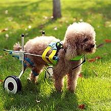 Ajustable para silla de ruedas para extra pequeño perro (XXS), cadera altura:
