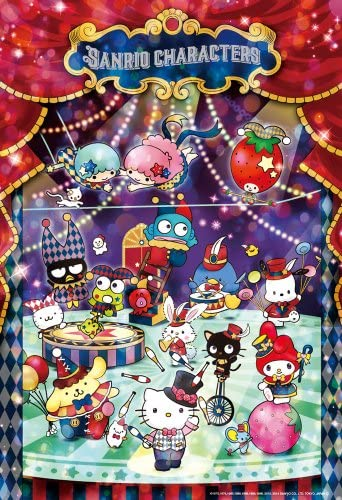 300-piece jigsaw puzzle Sanrio Characters Hello Kitty Circus Night (26x38cm) | De Qualité Constante