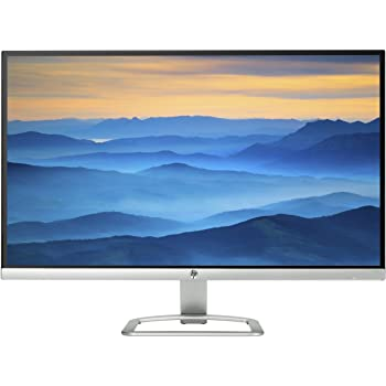 "HP 27es Ecran PC Full HD 27"" Argent/Noir (IPS/LED, 68,58 cm, 1920 x 1080, 16:9, 60 Hz, 7 ms) (Ref: T3M86AA)"