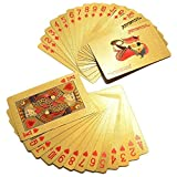 Pooja Creation Golden Plastic Playing Cards Set of One DIWALI OFFER BUY 5 GET 1 FREE