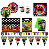Procos 412262 - Kinderpartyset The Muppets, XXL