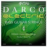 C. F. Martin & Co. a D 9900l Darco corde per basso elettrico, extra light, in nichel, 4corde, lep0j.040.095
