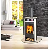 Fireplace Kaminofen »Paris« - Kachel beige - 6 kW - max. 108 m³