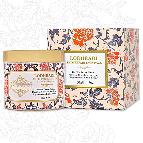 Royal-Indulgence-Lodhradi-Face-Mask-100-Organic-Ayurvedic-Beauty-Solution-For-Flawless-Skin-50-Gms