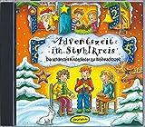 Adventszeit im Stuhlkreis (CD-Sampler): Die schönsten Kinderlieder zur Weihnachtszeit