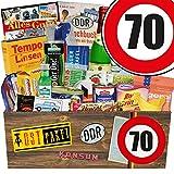 DDR Geschenkbox   Spezialitäten Geschenk   70 Geburtstag   Geschenkset Vater