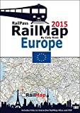RailMap Europe 2015: Includes interactive version of RailMap DIY Atlas creator and PDFs links covering the whole of the Europe, Turkey and Morocco Railway Network