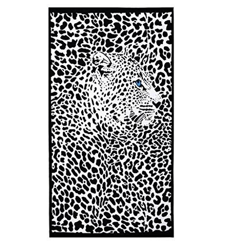 Hongci travel telo mare in microfibra extra large dimensioni 180 cm x 100 cm - asciugatura rapida, leggero, assorbente, compatta, ideale per via