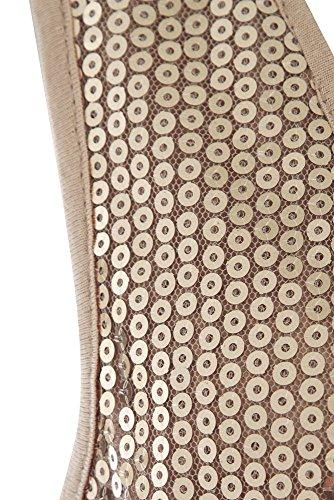 SS7 - Femmes - Haut mousseline sequin Naturel