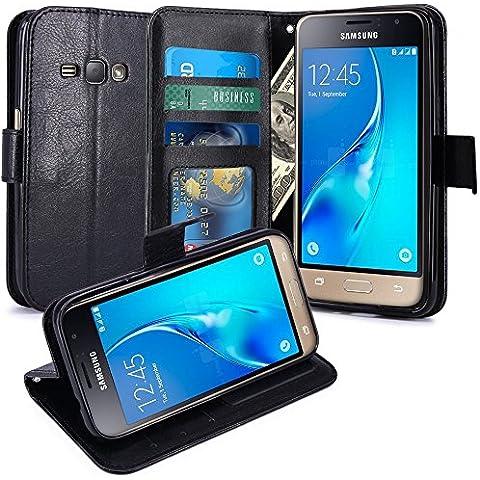 J12016Custodia Cover Custodia di lusso portafoglio porta carte e Biglietto