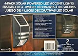 Paradise Northern Solar Deck LED Accent Light with Downlight 4 Pack