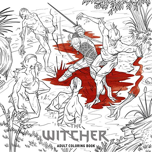Produktbild The Witcher Adult Coloring Book